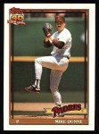 1991 Topps #238  Mike Dunne  Front Thumbnail