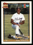 1991 Topps #529  Mark Newfield  Front Thumbnail