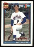 1991 Topps #471  Mike Lieberthal  Front Thumbnail