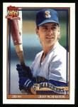 1991 Topps #681  Jeff Schaefer  Front Thumbnail