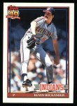 1991 Topps #246  Kevin Wickander  Front Thumbnail