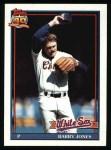 1991 Topps #33  Barry Jones  Front Thumbnail
