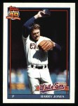 1991 Topps #33  Barry Jones  Front Thumbnail