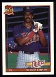 1991 Topps #18  Nelson Liriano  Front Thumbnail