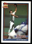 1991 Topps #584  Kevin Brown  Front Thumbnail