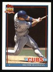 1991 Topps #362  Hector Villenueva  Front Thumbnail
