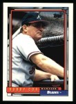 1992 Topps #489  Bobby Cox  Front Thumbnail