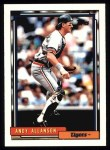 1992 Topps #167  Andy Allanson  Front Thumbnail