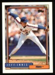 1992 Topps #139  Jeff Innis  Front Thumbnail