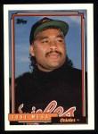 1992 Topps #310  Jose Mesa  Front Thumbnail