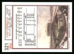 1992 Topps #321  Lou Piniella  Back Thumbnail