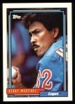 1992 Topps #15  Dennis Martinez  Front Thumbnail
