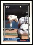 1992 Topps #18  Greg Cadaret  Front Thumbnail