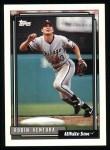 1992 Topps #255  Robin Ventura  Front Thumbnail