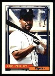 1992 Topps #319  Tony Phillips  Front Thumbnail