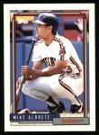 1992 Topps #256  Mike Aldrete  Front Thumbnail