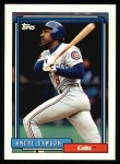 1992 Topps #460  Andre Dawson  Front Thumbnail
