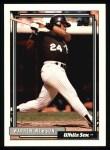1992 Topps #355  Warren Newson  Front Thumbnail