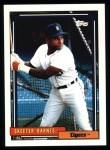 1992 Topps #221  Skeeter Barnes  Front Thumbnail