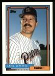 1992 Topps #41  Craig Lefferts  Front Thumbnail