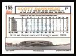 1992 Topps #155  Scott Bankhead  Back Thumbnail
