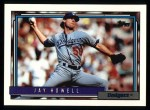 1992 Topps #205  Jay Howell  Front Thumbnail