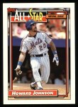 1992 Topps #388   -  Howard Johnson All-Star Front Thumbnail