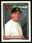 1992 Topps #96  Tom McKinnon  Front Thumbnail