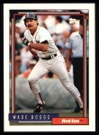 1992 Topps #10  Wade Boggs  Front Thumbnail