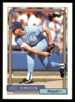 1992 Topps #328  Joel Johnston  Front Thumbnail