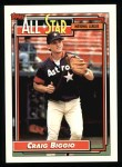 1992 Topps #393   -  Craig Biggio All-Star Front Thumbnail