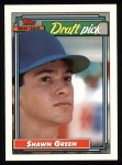 1992 Topps #276  Shawn Green  Front Thumbnail
