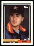 1992 Topps #640  Xavier Hernandez  Front Thumbnail