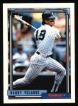 1992 Topps #212  Randy Velarde  Front Thumbnail