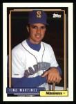 1992 Topps #481  Tino Martinez  Front Thumbnail
