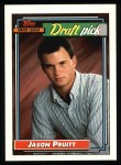 1992 Topps #246  Jason Pruitt  Front Thumbnail