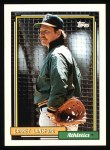 1992 Topps #495  Carney Lansford  Front Thumbnail