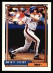 1992 Topps #533  Mackey Sasser  Front Thumbnail