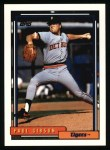 1992 Topps #143  Paul Gibson  Front Thumbnail