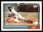 1992 Topps #370  Shawon Dunston  Front Thumbnail