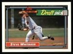 1992 Topps #369  Steve Whitaker  Front Thumbnail