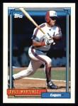 1992 Topps #309  Dave Martinez  Front Thumbnail