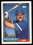 1992 Topps #181  Hector Villanueva  Front Thumbnail