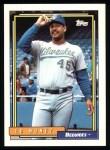 1992 Topps #352  Ed Nunez  Front Thumbnail