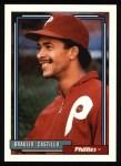 1992 Topps #353  Braulio Castillo  Front Thumbnail