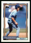 1992 Topps #506  Todd Benzinger  Front Thumbnail