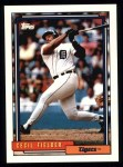 1992 Topps #425  Cecil Fielder  Front Thumbnail
