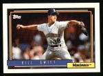 1992 Topps #144  Bill Swift  Front Thumbnail