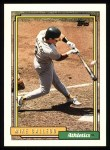 1992 Topps #76  Mike Gallego  Front Thumbnail
