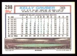 1992 Topps #298  Kelly Gruber  Back Thumbnail